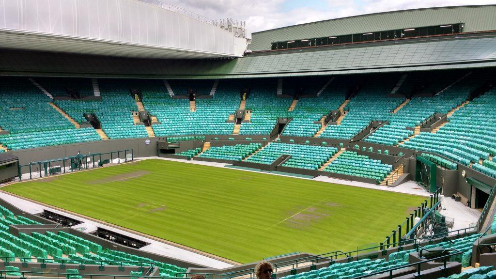 Wimbledon centre court tennis nutrition for training