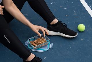 Athlete Snacking