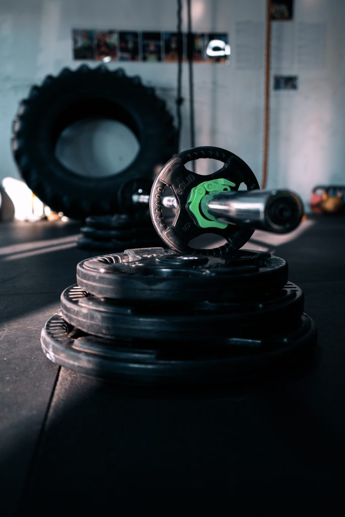 Picture of gym weights