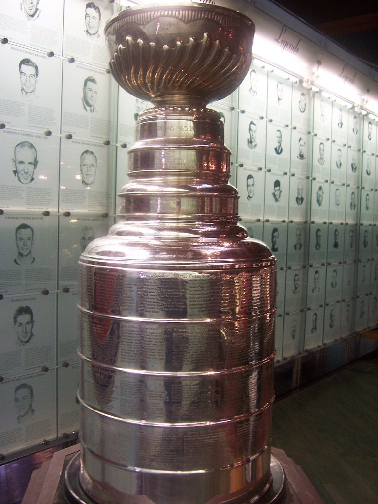 Stanley Cup close up